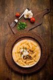 Pasta with Sicilian pesto