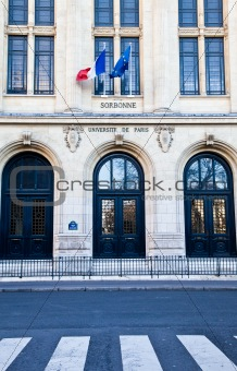 Paris - Sorbonne University Entrance