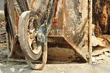 The old Wheelbarrow chromium