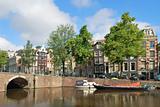 Amsterdam. Channel Keizersgracht