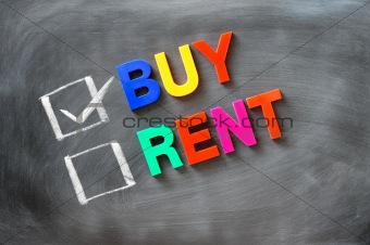 Buy and rent check boxes