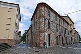 Alleyway. Rivergaro. Emilia-Romagna. Italy.
