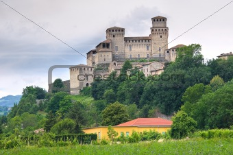 Castle of Torrechiara. Emilia-Romagna. Italy.