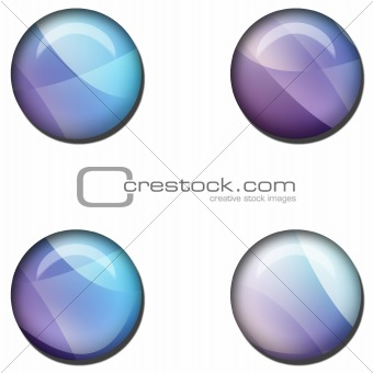 Abstract Web Button Set
