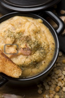 Grochowka - Polish Pea Soup