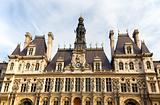 Hotel de Ville, City Hall of Paris