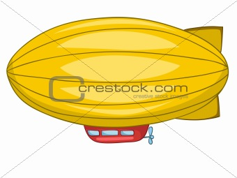 Cartoon Dirigible