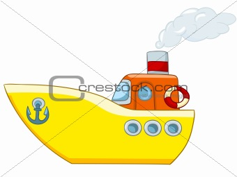 Cartoon Ship