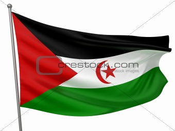 Western Sahara (Sahrawi Arab Democratic Republic) National Flag