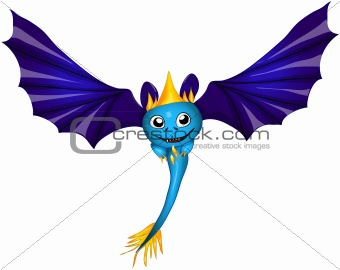 cute bat dragon