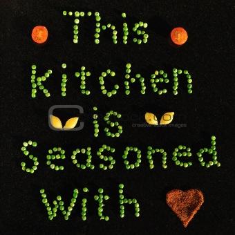 Kitchen slogan