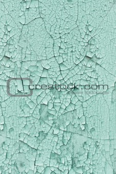 Background - wall covered with cracked paint