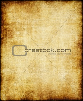 old yellow brown vintage parchment paper texture