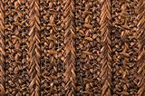 Wicker pattern background