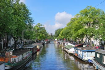 Amsterdam. Prinsengracht canal