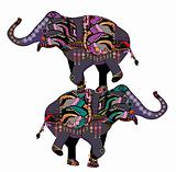 circus elephants