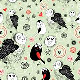 texture of the fun owls
