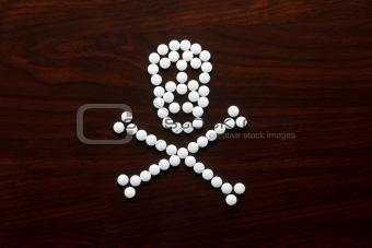 Skull Pills Front