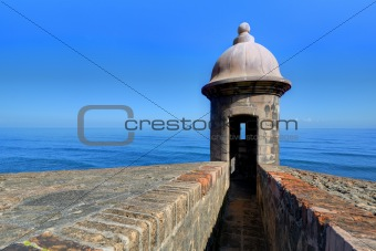 Castillo de San Cristóbal in Puerto Rico