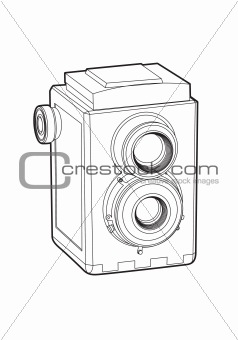 Old classic camera