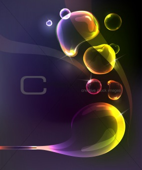 Bubble background