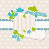 baby frame design elements