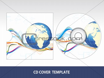 abstract corporate cd cover