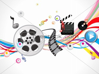 abstract footage action background
