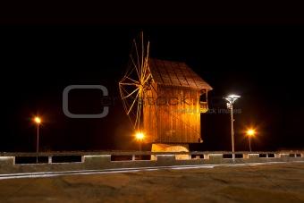 Old Nessebar, night view
