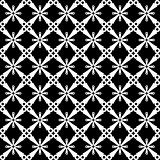 Seamless pattern with cross-shaped elements.