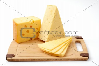 several cheeses