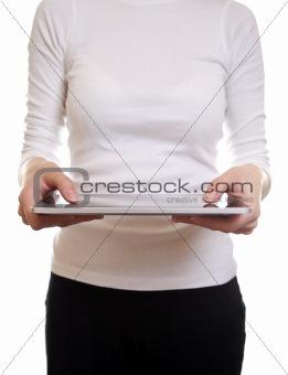 Using a digital tablet