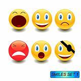 Smiles set 1