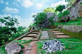 ancient ruins in the vicinity mount Sigiriya, Sri Lanka (Ceylon)