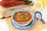 Asian Lobster Bisque