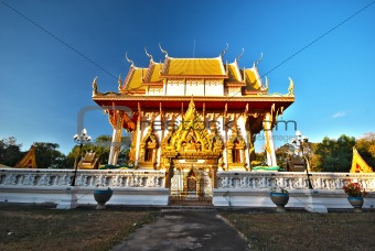 Church of Thai temple HDR