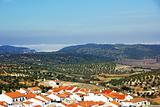 landscape of Moura village