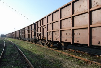 Railway freight wagons