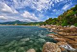 Tropical landscape - Karon beach, Thailand, Phuket