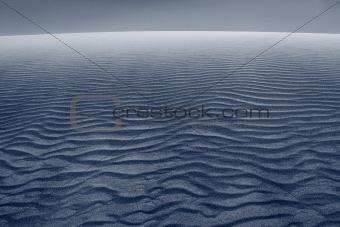 Sand dune.