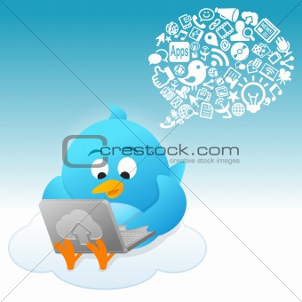 Blue Bird Social conversation