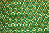 Background patterns of Thai fabric cotton