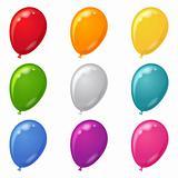 Balloons, set
