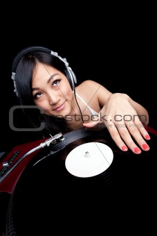 Asian Girl DJ