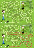 Football maze