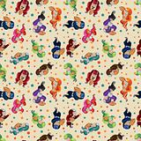 seamless football pattern
