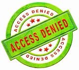 access denied closed
