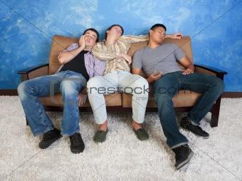 Sleeping Teenagers