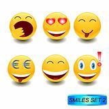 Smiles set 2