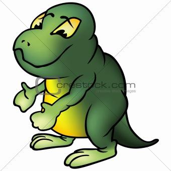 Green Brontosaur